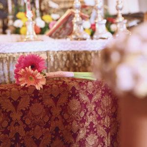 Detalles del ramo de la novia