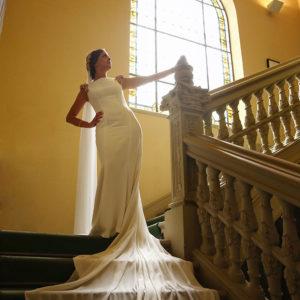 Reportaje de boda en el Colegio de Arquitectos de Málaga