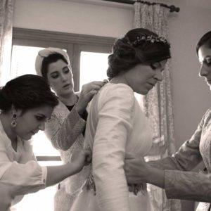 Momentos únicos con la novia