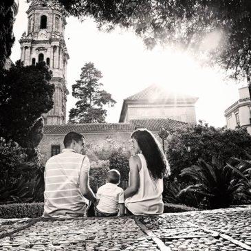 Preboda por el entorno de la Catedral de Málaga