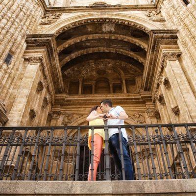 Sesión fotográfica por Málaga