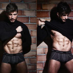 Sesión underwear de estudio