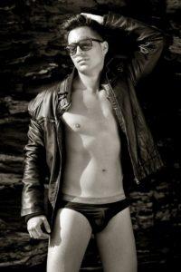 Men model fashion