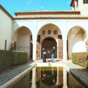 Reportaje en la Alcazaba