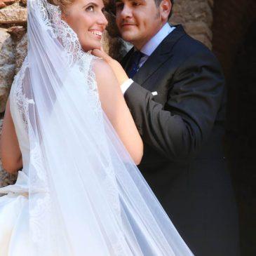 Elena y Joaquín, una boda con mucho arte
