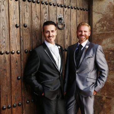 Samuel y Miguel. Una elegante boda en Puente Romano