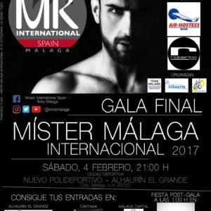 Míster Málaga 2017