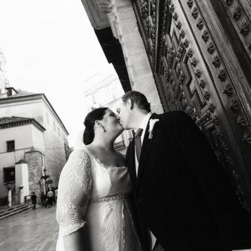 Bea y Pablo, una boda ante la Patrona de Málaga