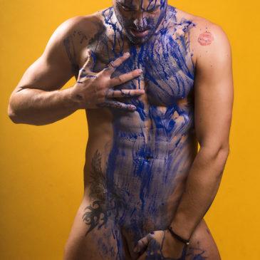 El cuerpo como arte. Sesión al natural con JM Bracho