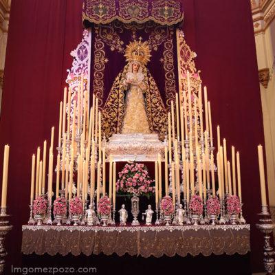 Semana Santa. Cultos Trinidad Málaga 2017.