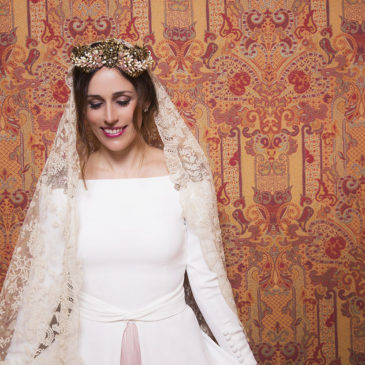 Prueba de novia en Alta Costura Montesco