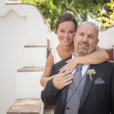 La boda de Ana y Dani en la Finca El Portón