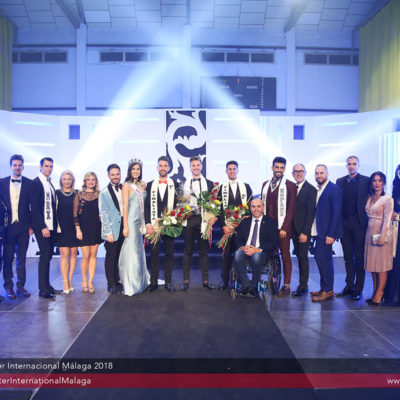 Fotógrafo de eventos. Gala Míster Málaga 2018