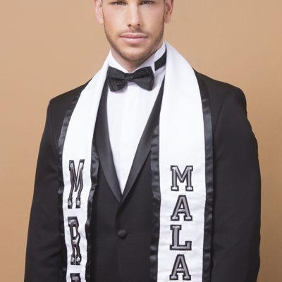 Posado Míster Internacional Málaga 2018