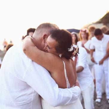 Unas bodas de plata al nivel del mar