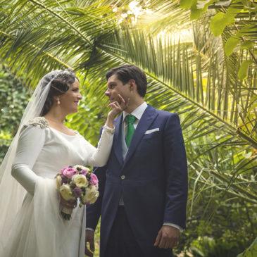 Tania y Jorge , una boda para el recuerdo