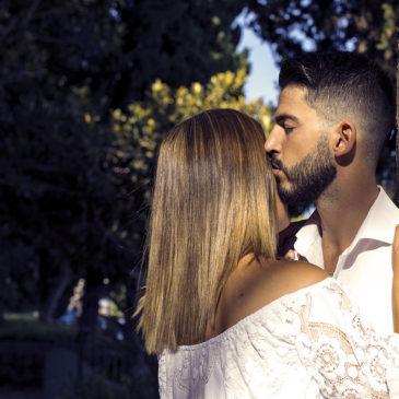 Marina y José, una preboda por Málaga