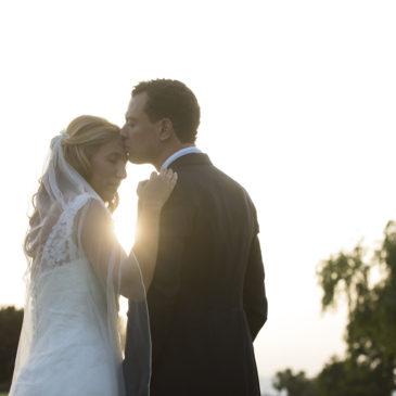 Eva y Juanje, una boda en la noche de San Juan