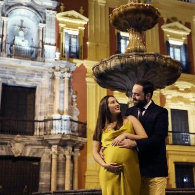 sesión premamá. Málaga 2019