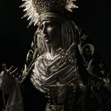 Las imágenes de los Dolores del Puerto de la Torre en estudio