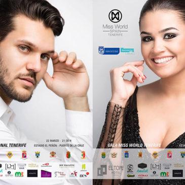 Fotógrafo oficial en Miss Mundo & Míster Int. Tenerife 2019