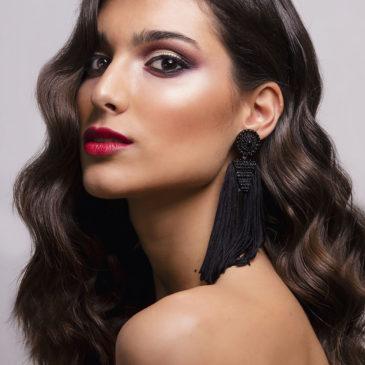 Sesión de estudio con la modelo Carmen Porras