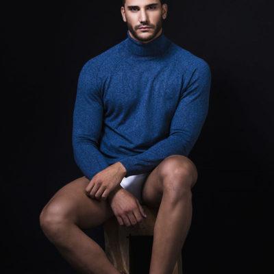 Moda masculina. 2018.