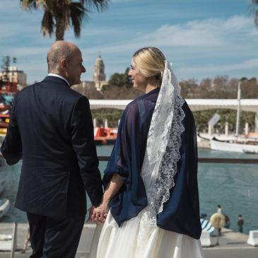 La boda de Georgia y Miguel
