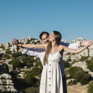 Carmen y Samuel, una preboda por Antequera