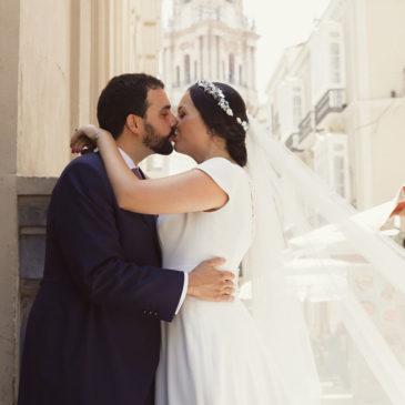 Ana Belén y Fran, una boda de altura