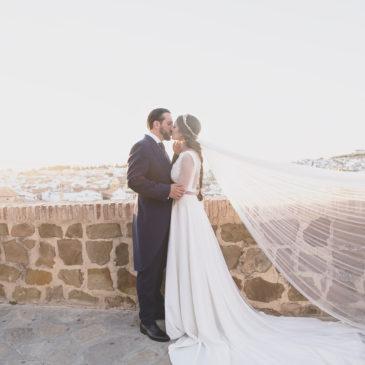 Carmen y Samuel, una boda en el corazón de Antequera