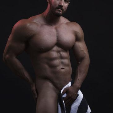 Sesión de estudio con el modelo fitness Miguel A. Gómez