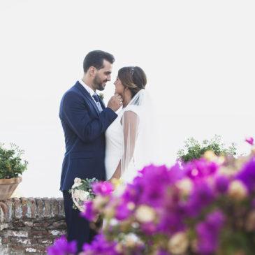 La boda de Ali y Julio en el corazón de Málaga