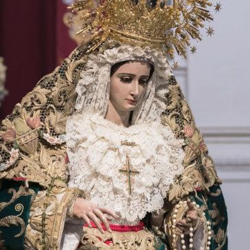 Cofradías: Besamano de Gracia y Esperanza de Málaga 2019
