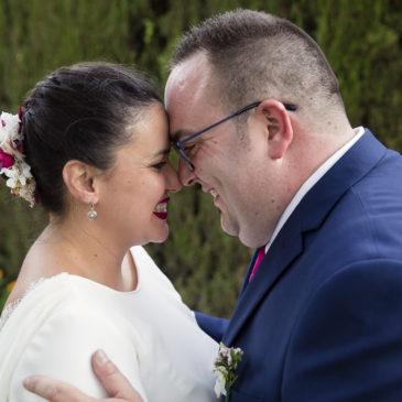 Lalel y Alba , su boda soñada