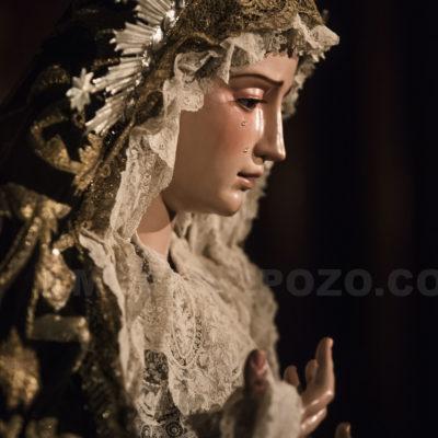 Fotografía cofrade. Consolación y Lágrimas restaurada.Málaga 2020