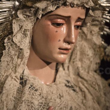 Reportaje: Restauración de María Santísima de Consolación y Lágrimas (Málaga)