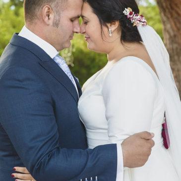 Patricia y Cristóbal, una boda inolvidable en octubre de 2019