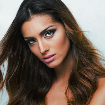 Retrato Miss Mundo España 2016. Fotógrafo Málaga