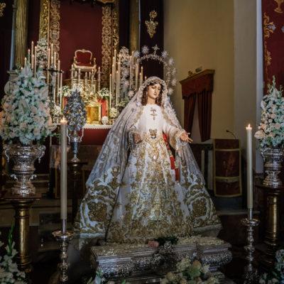 Cofradías Málaga. Besamano Rocío 2020