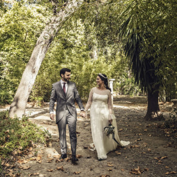 Belén y Víctor, una boda otoñal en la Hacienda Nadales