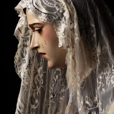 Reportaje de estudio de la nueva imagen del Buen Fin, Reina de los Ángeles (Málaga)