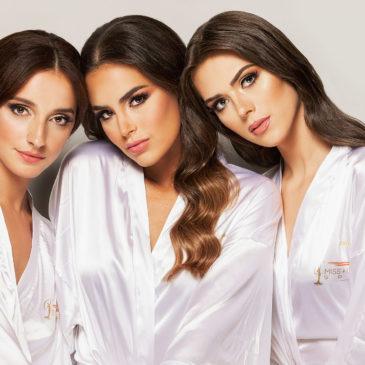 Fotos de presentación de las candidatas a Miss Universo España 2020