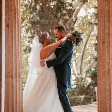 Teresa y Curro , una boda de cuento de hadas